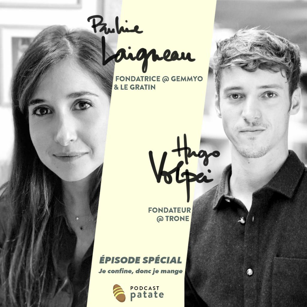 Pauline Laigneau Hugo Volpei podcast